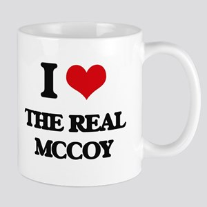 I Love The Real Mccoy Mugs