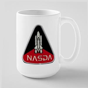 NASDA Program Logo Large Mug
