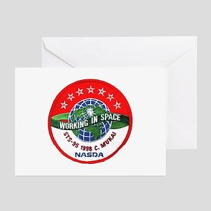 C. Mukai STS-95 Greeting Cards (Pk of 10)