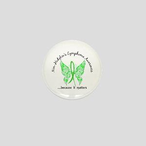 NH Lymphoma Butterfly 6.1 Mini Button