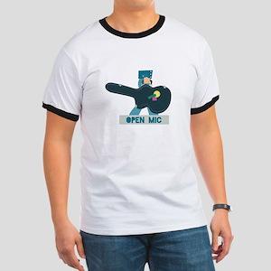 Guitar Case Open Mic T-Shirt