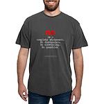 NoIsComplete-lgRed g- Mens Comfort Colors Shirt