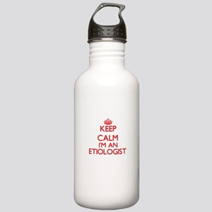 Keep calm I'm an Etiol Stainless Water Bottle 1.0L