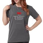 Noiscomplete-Lgred G- Womens Comfort T-Shirt