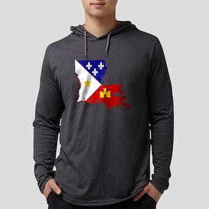 Acadiana State of Louisiana Long Sleeve T-Shirt