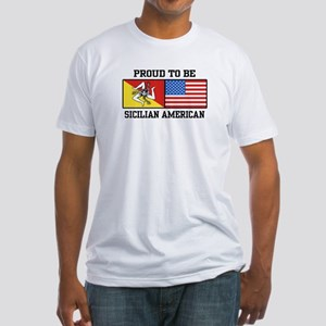 Sicilian American Fitted T-Shirt