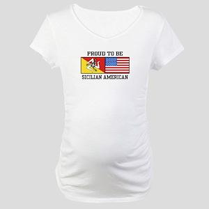 Sicilian American Maternity T-Shirt