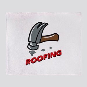 ROOFING Throw Blanket