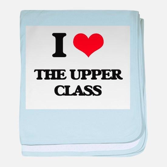I love The Upper Class baby blanket
