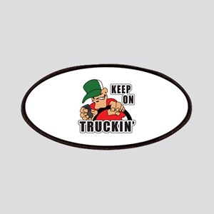 KEEP ON TRUCKIN Patches