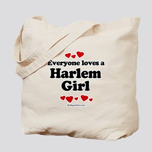 Everyone loves a Harlem girl Tote Bag