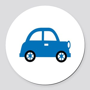 CHILDS CAR Round Car Magnet