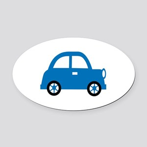 CHILDS CAR Oval Car Magnet