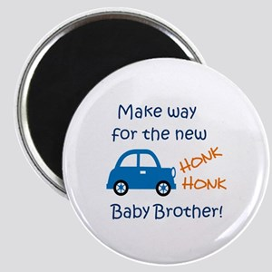 NEW BABY BROTHER Magnets