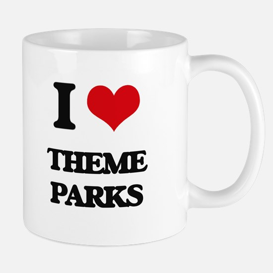 I love Theme Parks Mugs
