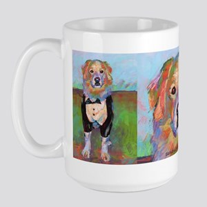 Keelo The Dog Large Mugs
