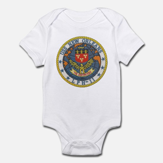 USS NEW ORLEANS Infant Bodysuit