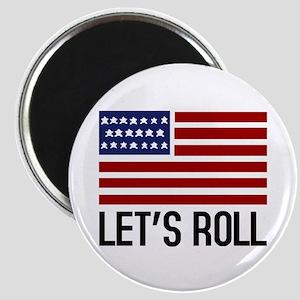 Let's Roll Magnet