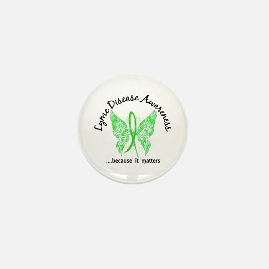 Lyme Disease Butterfly 6.1 Mini Button