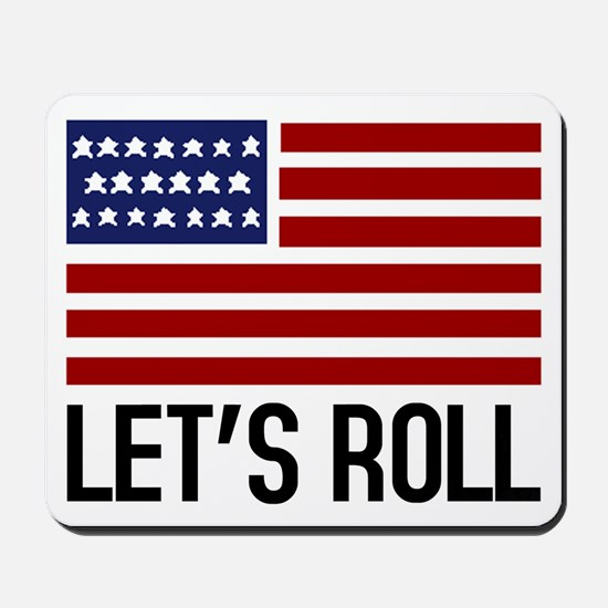 Let's Roll Mousepad