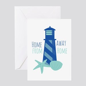 Away from Home Greeting Cards