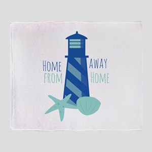 Away from Home Throw Blanket