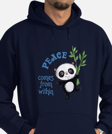PEACE COMES FROM WITHIN Hoodie