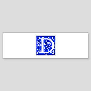 D-ana blue Bumper Sticker