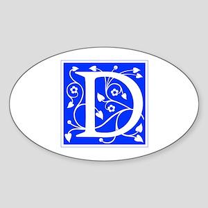 D-ana blue Sticker