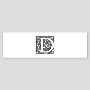 D-ana gray Bumper Sticker
