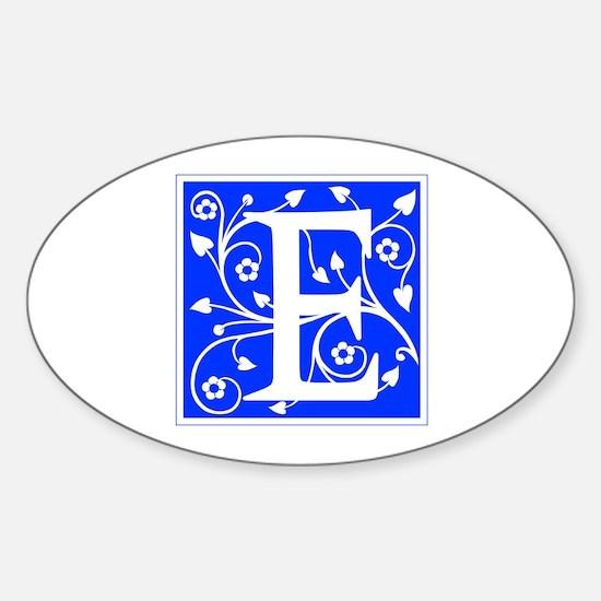 E-ana blue Decal