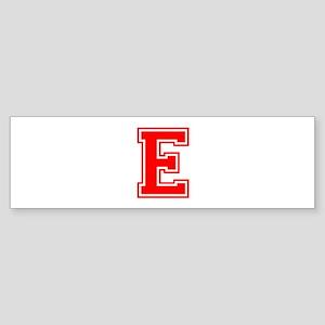 E-var red Bumper Sticker