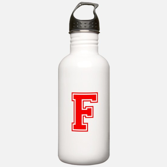F-var red Water Bottle
