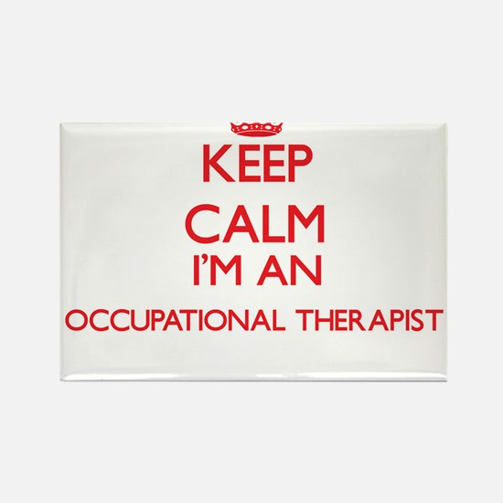 Keep calm I'm an Occupational Therapist Magnets