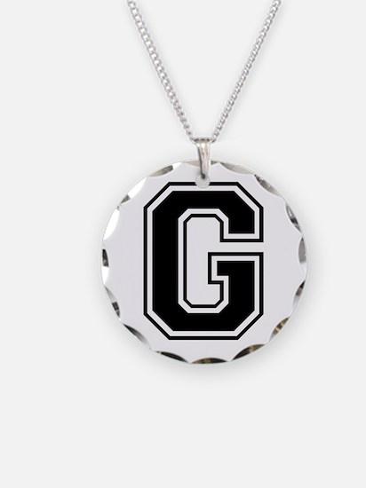 G-var black Necklace