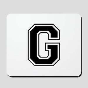 G-var black Mousepad