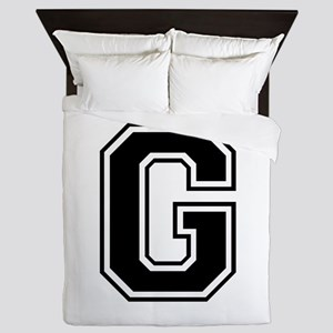 G-var black Queen Duvet