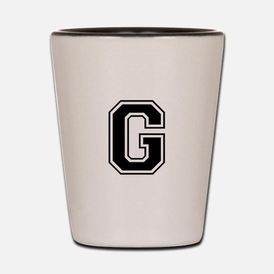 G-var black Shot Glass