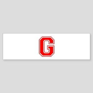 G-var red Bumper Sticker