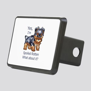 SPOILED ROTTEN YORKIE Hitch Cover