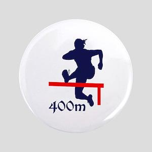 "400 METER HURDLES 3.5"" Button"