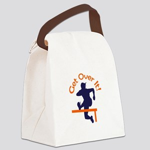 GET OVER IT Canvas Lunch Bag