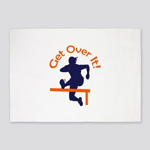 GET OVER IT 5'x7'Area Rug