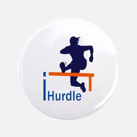 """I HURDLER 3.5"""" Button"""