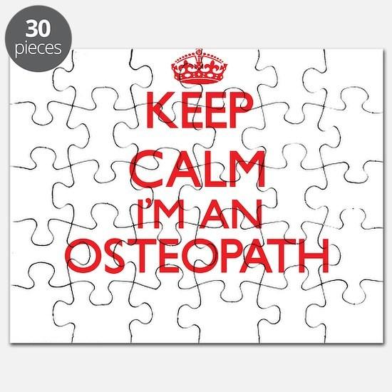 Keep calm I'm an Osteopath Puzzle