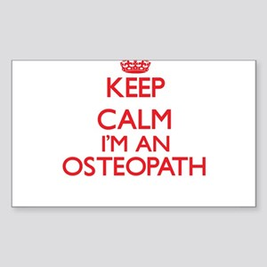 Keep calm I'm an Osteopath Sticker