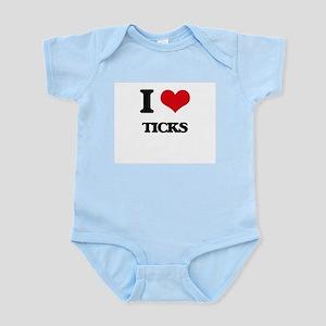 I love Ticks Body Suit
