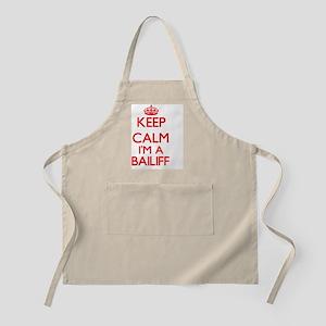 Keep calm I'm a Bailiff Apron