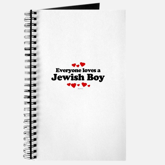 Everyone loves a Jewish boy Journal