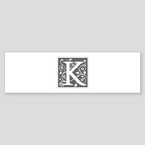 K-ana gray Bumper Sticker